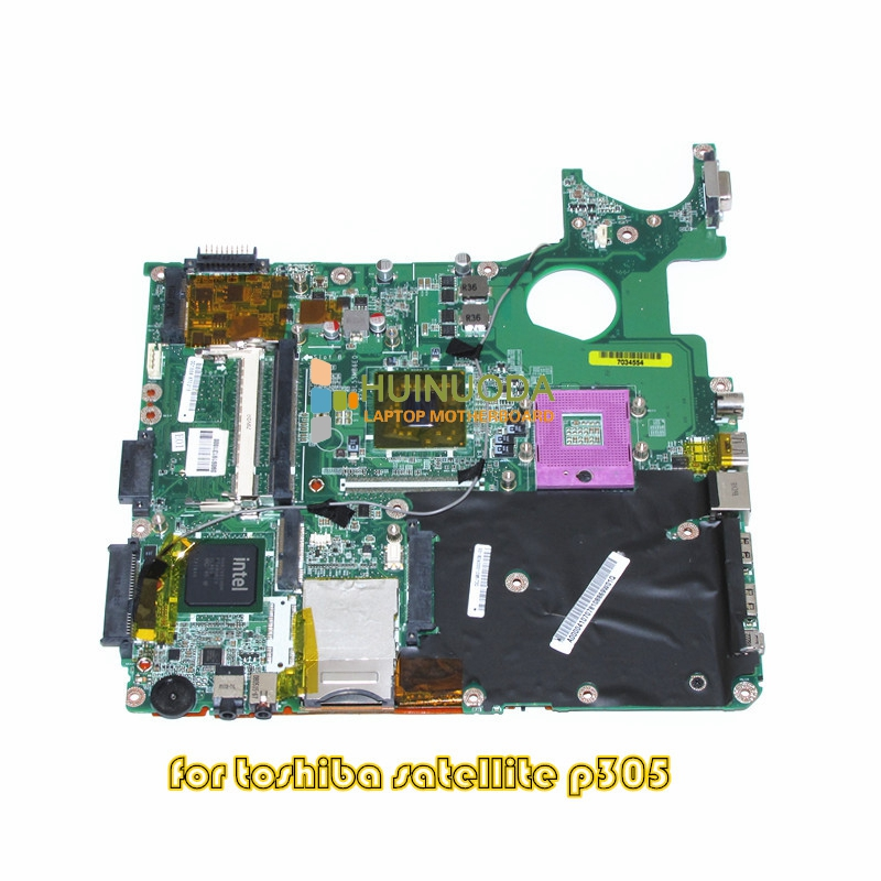 NOKOTION A000041070 laptop motherboard for toshiba satellite P300 P305 965GM DDR2 Without graphics slot Mainboard DABL5SMB6E0 nokotion for toshiba satellite c850d c855d laptop motherboard hd 7520g ddr3 mainboard 1310a2492002 sps v000275280