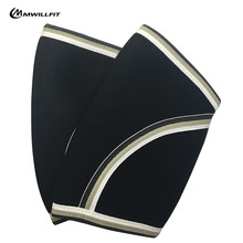 Elbow Sleeves (1 Pair) Support Compression for Weightlifting, Powerlifting & Cross Training - 5mm Neoprene Elbow Sleeve