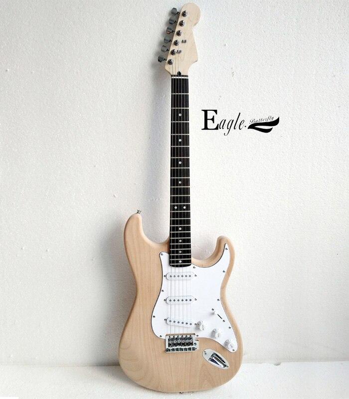 Aigle. Guitare électrique papillon, basse électrique magasin personnalisé st guitare électrique log couleur peut être personnalisé selon le client