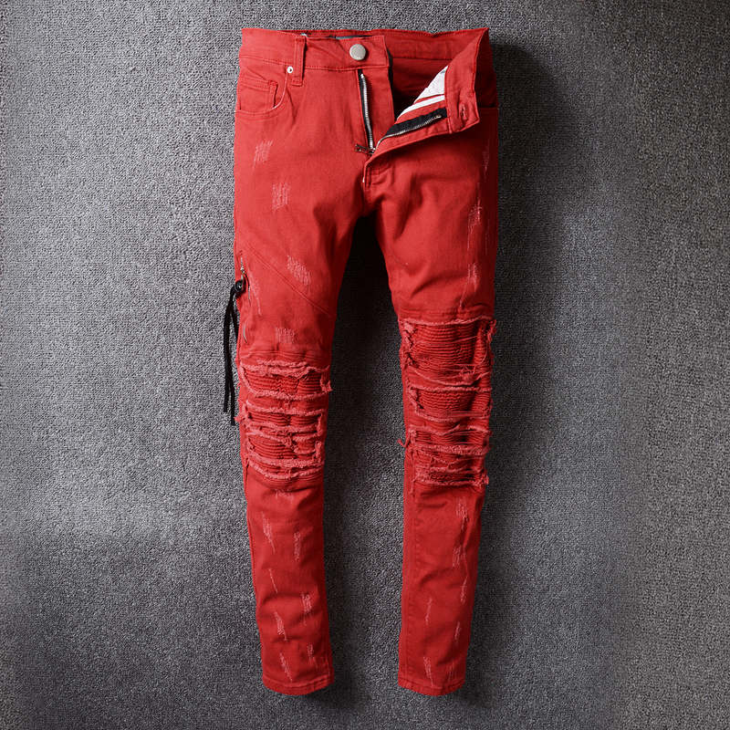 Online Get Cheap Red Designer Jeans -Aliexpress.com | Alibaba Group