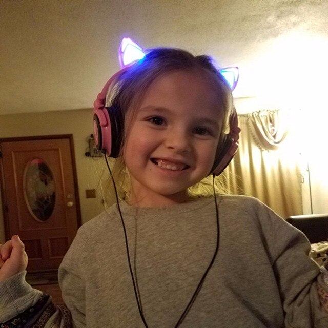 Foldable Cat Ear headphones 4