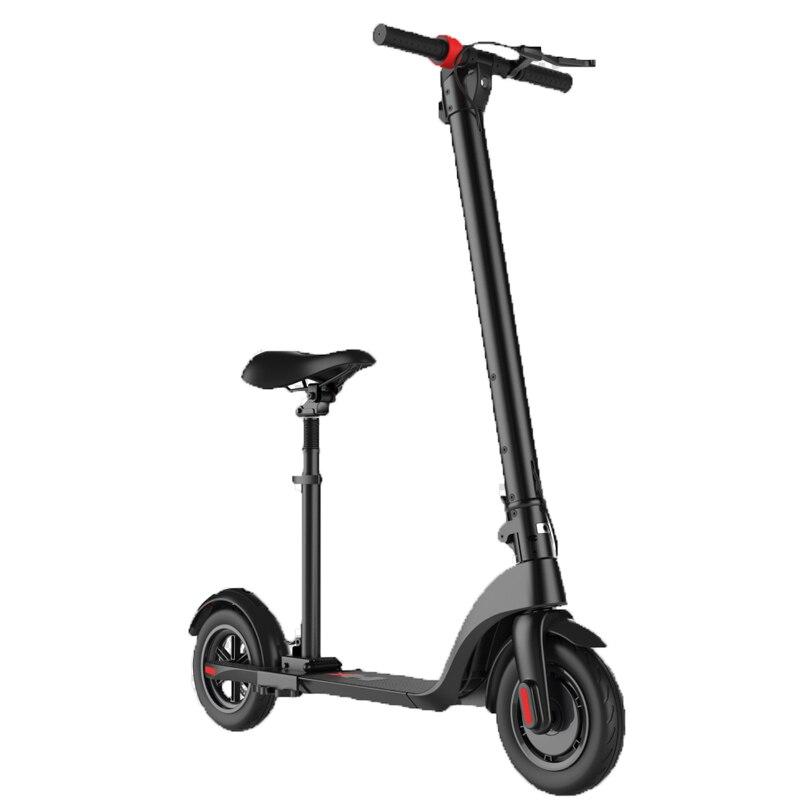 Scooter électrique pliant de 8.5 pouces hoverboard électrique en alliage d'aluminium-magnésium planche à roulettes électrique 2 roues debout scooter rapide