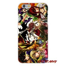 Fairy Tail Slim Silicone phone Case For iPhones