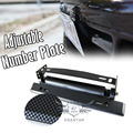 Universal adjustable rotating auto license plate frame number plate holder
