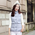 Women Autumn Vests Waistcoats Womens Vest Sleeveless Jacket With Hooded Cotton Warm Vest Female