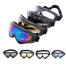 WOLFBIKE UVA/UVB Protection Outdoor Sports Ski Snowboard Skate Goggles Motorcycle Off-Road Cycling Goggle Glasses Eyewear Lens