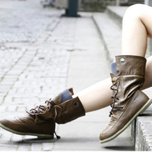 Winter Women Snow Boots Warm Round Toe Comfortable Flat Shoes Female Fashion Boots Popular Wholesale DGT674