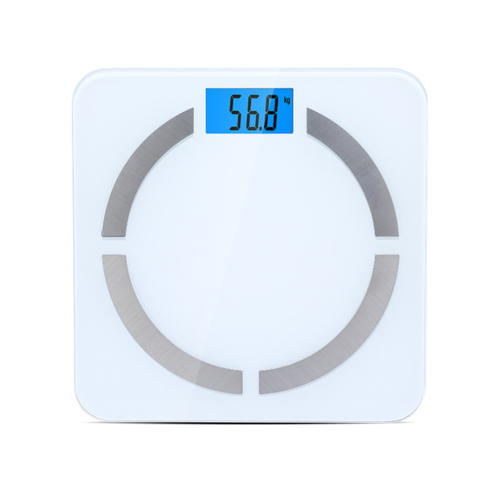Bluetooth LCD Weight Scale Digital Smart Scale Body Fat Bone Muscle Calorie Content Tester SN-Hot