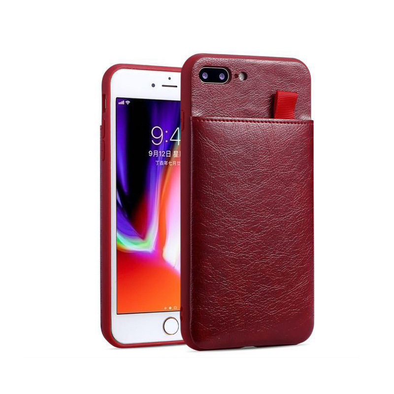 For iPhone X XR XS Max Luxury PU Leather Card Slots Stand Personalized Phone Case Slim Cover For iPhone 11 Pro Max 6 6S 8 7 Plus