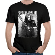 Hip Hop Style Tees Burzum Filosofem Cover T Shirt Nice Short-sleeved Fashion Top Design New Arrival Popular T-SHIRT Tee