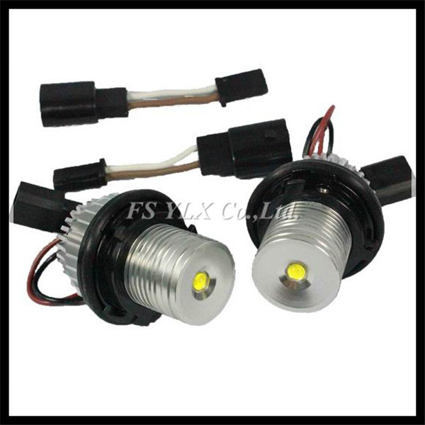 5W LED Marker for BMW E60 E39 LED headlight Angel Eyes canbus for BMW E39 E53 E60 E61 E63 E64 E65 E66 E87 LED angel eyes for BMW источник света для авто eco fri led t10 2 501 w5w 12smd 12v canbus bmw e36 e38 e39 e46 e53 e60 e63 e65 e66