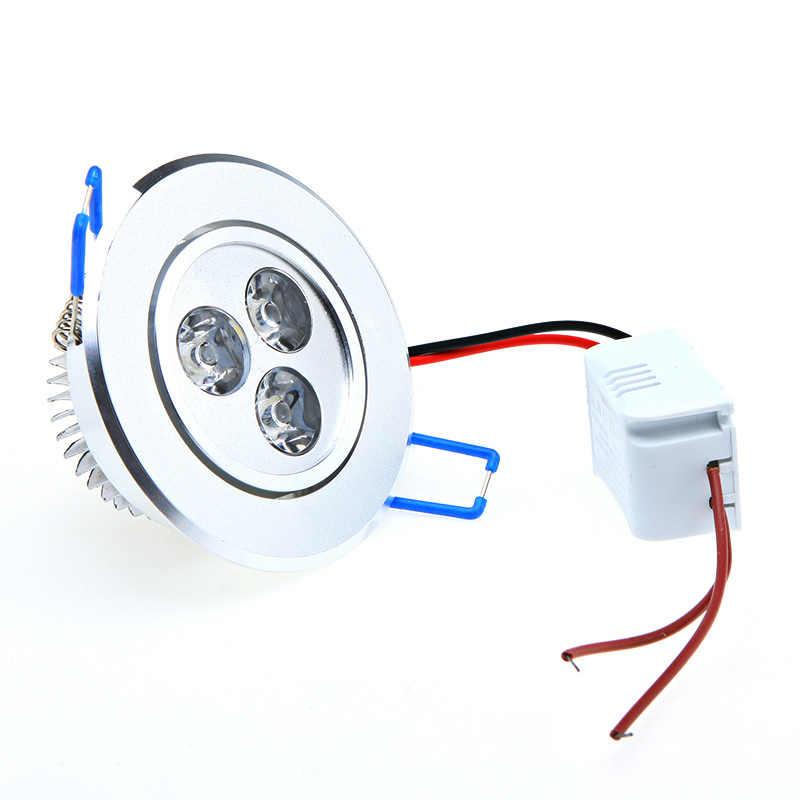 Оптовая продажа 9 Вт потолочный Epistar светодиодный потолочный светильник скрытый точечный свет AC85-265v для дома светодиоды для освещения лампы