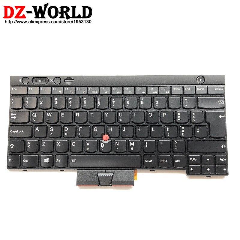 New Original for Thinkpad X230 X230i X230T (X230 Tablet) Backlit Keyboard PL Polish Backlight 04Y0549 0C01944 04X1374 04Y0660 все цены