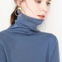 GejasAinyu 2019new swetry damskie moda 2019 kobiet kaszmirowy sweter z golfem damski sweter z dzianiny kobiet sweter zimowe bluzki
