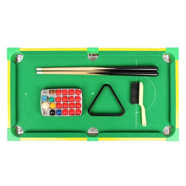Online Shop MIni Snooker Table English Billiards Table Tabletop Of - English pool table