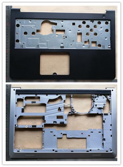 New Top Case For Dell  Inspiron 15 5000 5547 5548 5545 15-5557 Upper Case Palmrest K1M13+ Base Bottom Cover Lower Case