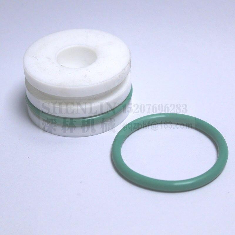 NEW Machined Aluminum tag vial w O-RING seal
