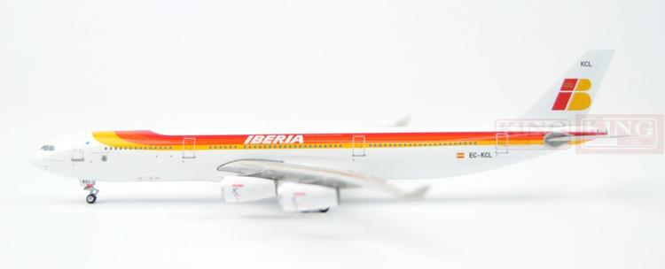 Phoenix 10539 Spanish airline EC-KCL 1:400 A340-300 commercial jetliners plane model hobby hongkong agency pixel to buy aircraft commercial airline fleet planning commercial jetliners plane model hobby