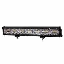 цена на ECAHAYAKU 20 inch LED Work Light Bar 420W Flood Spot Combo Beam 12V 24V Off Road 4WD ATV UTV UAZ UTE Motorbike Boat Driving lamp