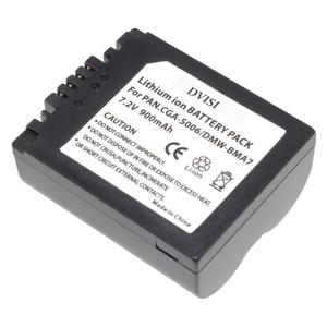 Image 1 - 1Pc CGA S006 CGR CGA S006E S006 S006A BMA7 DMW BMA7 Oplaadbare Batterij voor Panasonic DMC FZ7 FZ8 FZ18 FZ28 FZ30 FZ35 FZ38 FZ50