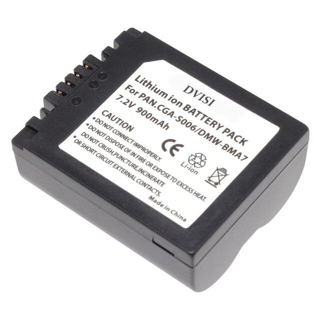 1Pc CGA S006 CGR CGA S006E S006 S006A BMA7 DMW BMA7 Oplaadbare Batterij voor Panasonic DMC FZ7 FZ8 FZ18 FZ28 FZ30 FZ35 FZ38 FZ50