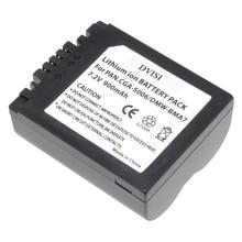 Batería recargable CGA S006 CGR CGA S006E S006 S006A BMA7 DMW BMA7 para Panasonic DMC FZ7 FZ8 FZ18 FZ28 FZ30 FZ35 FZ38 FZ50, 1 unidad