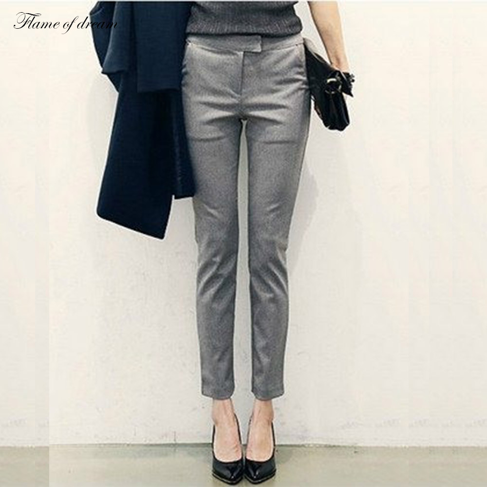Women office trousers online shopping-the world largest women ...
