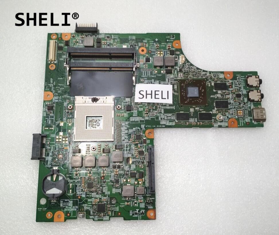 SHELI For Dell 15R N5010 Motherboard 48.4HH01.011 CN-052F31 052F31 52F31 sheli for dell 15z 5523 motherboard i5 3337u cn 0tvjw0 0tvjw0 tvjw0