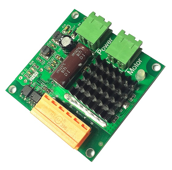 12V 24V 16A High-power DC Motor Drive Module H Bridge, Full Isolation Can Be Full of PWM