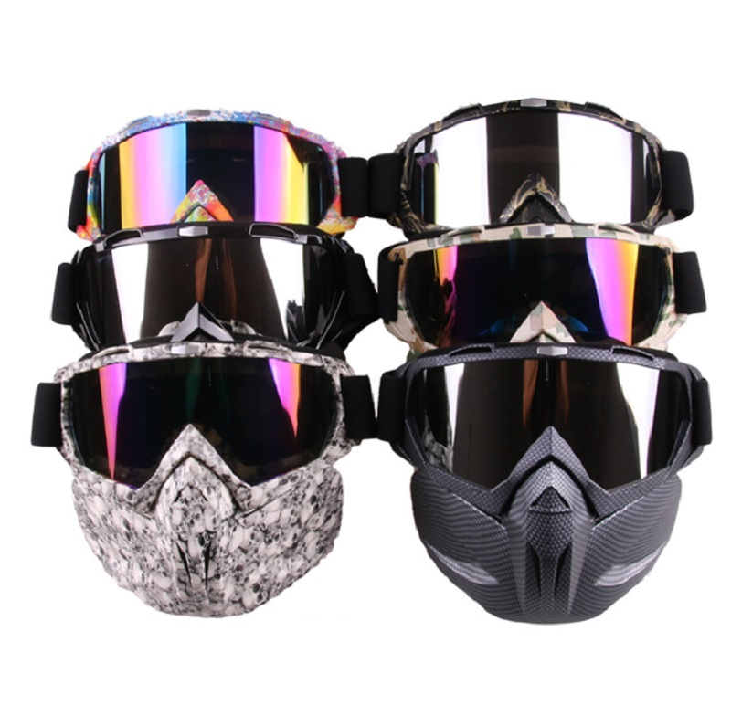 5 Color Glasses Retro Harley Tactical Mask Goggle For Toys Gun Elite Toy Gun Game Rival