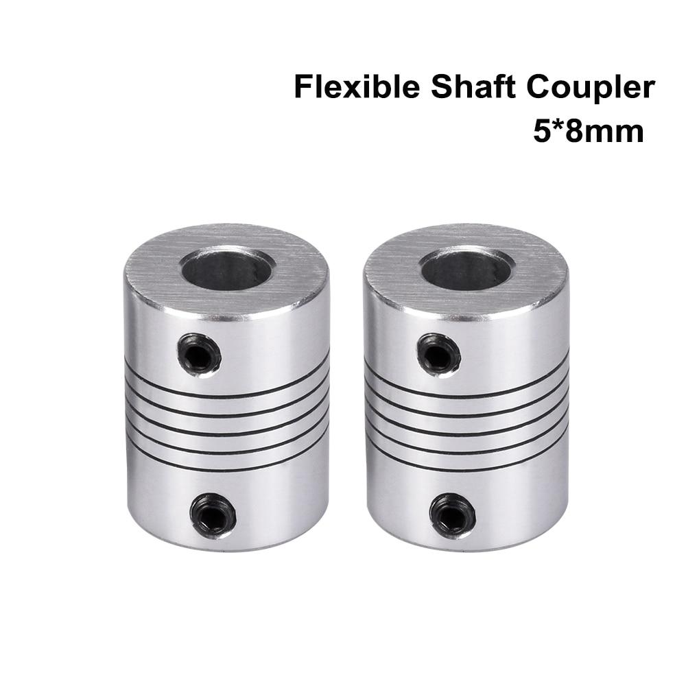 3D Printer Parts Flexible Shaft Coupler 5mm*8mm*25mm Flexible Coupling 5x8mm Flexible Shaft Suit Stepper Motor For 3D Printer