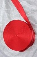 30 Meter Roll Seat Belt Webbing Safety Strap Red Color 48mm Wide 5 Bars