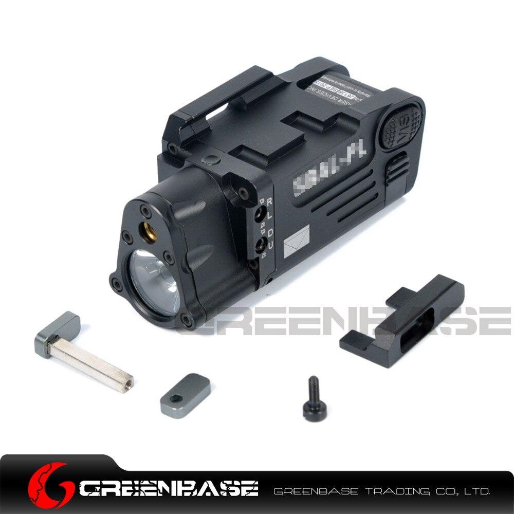Greenbase font b CNC b font Aluminum SBAL PL Hunting Flashlight Red Laser and LED WeaponLight