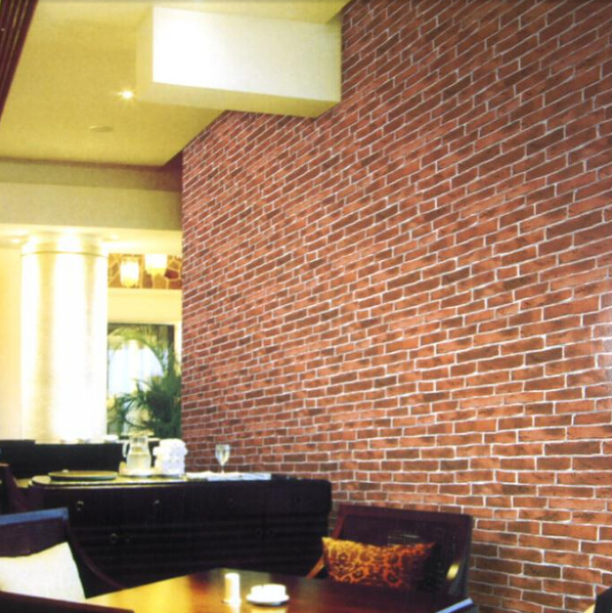 Ziegel Tapete Wohnzimmer : Red Brick Wall Room Roll