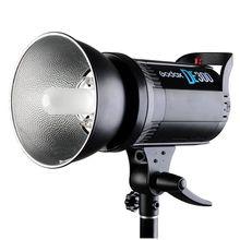 Профессиональные DE300 300 Вт 300 Ватт Компактный Студия Флэш Strobe Light Godox DE-300 Лампы Глава 220 В