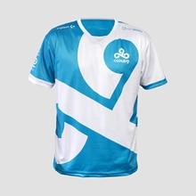 Dota2 LOL CSGO Game Team C9 CLOUD9 Jersey T Shirt CSGO GAMING t shirt fast dry