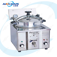 цена на MDXZ16 Electric Counter Top Chicken Pressure Fryer Pot for Commercial Kitchen Stainless Steel Temperature Control 220V 110V