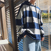 2018 Spring Newest Men S Fashion Trend Coat Stripe Cap Pullovers Loose Hip Hop Style Hoodies