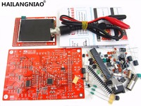 HAILANGNIAO 1Sets High Quality DS0138 DSO138 Digital Oscilloscope DIY Kit Probe Unsoldered Flux Workshop STM32 200khz