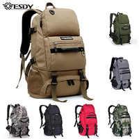 Hiking Backpacks 40L Outdoor Climbing Travel Bags Trekking Large Capacity Men Rucksack Camping Hunting Sport Army Bag
