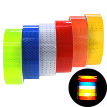 5x300cm Car Reflective Tape Sticker Auto Stickers Brand Decoration Film Motorcycle Safe Reflect Safety Warning Tape Car-Styling