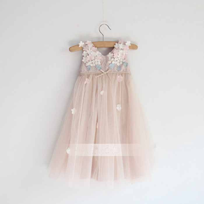 Girl dress chiffon children summer clothing kids dresses for girls