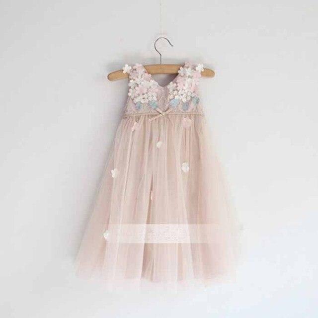 Girl Dress Chiffon Children Summer Clothing  Kids Dresses For Girls high quality pink Princess Dress 3-10y toddler girls Dresses