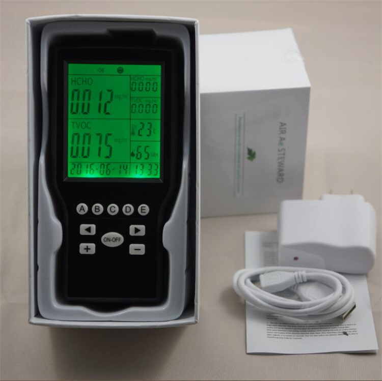 China HCHO (CH2O) Formaldehyde Monitor Environmental with Temperature Humidity %RH china