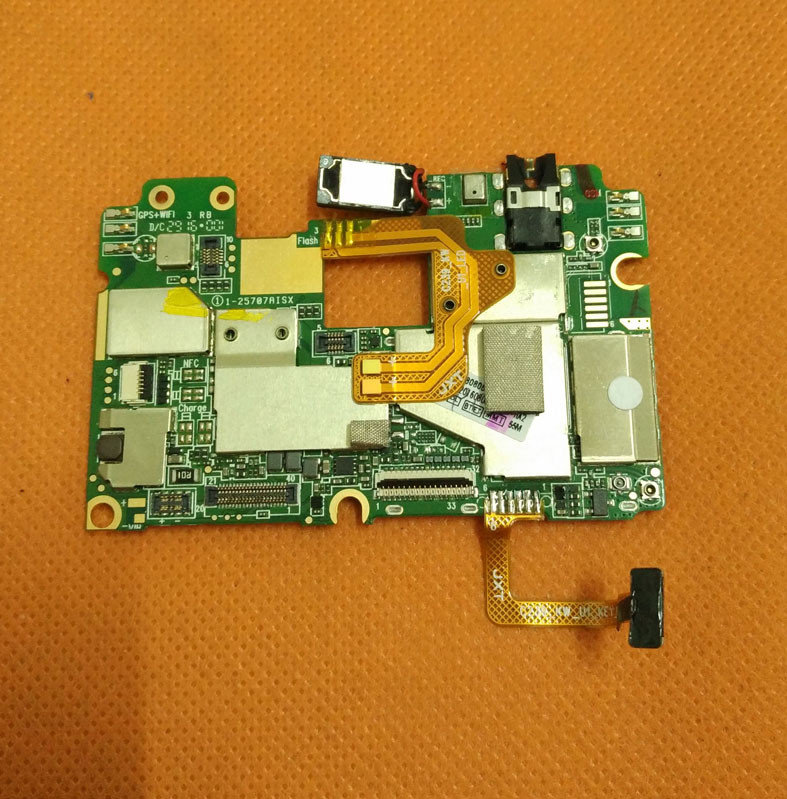 Used Original mainboard 3G RAM 16G ROM Motherboard for Umi Max MTK6755M Octa Core 5 5inch