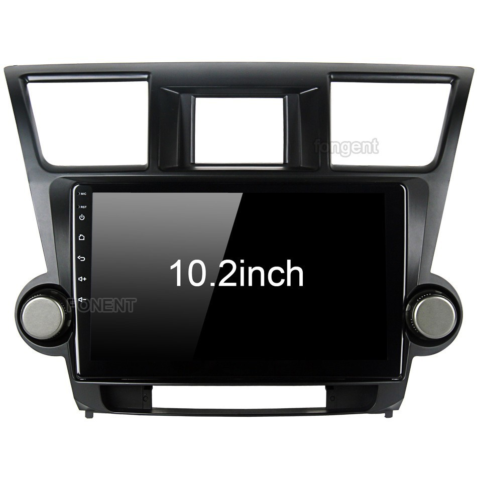 for Toyota Highlander Radio 2009 2010 2011 2012 Car Android Unit Radio Video Multimedia Player GPS Glonass NAVI Map Audio Stereo цена