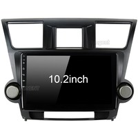 for Toyota Highlander Radio 2009 2010 2011 2012 Car Android Unit Radio Video Multimedia Player GPS Glonass NAVI Map Audio Stereo