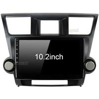 for Toyota Highlander Radio 2009 2010 2011 2012 Car Android Unit Radio Video Multimedia Player GPS Glonass NAVI Map Audio Stereo