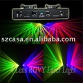 NEW ! 4 lens with Green+Violet+Yellow+Red Christmas Light DMX DJ Disco Party Laser Light(CTL-DC+)