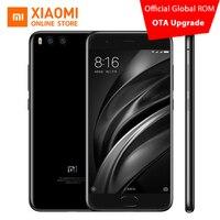 Original Xiaomi Mi6 Mi 6 Mobile Phone 6GB RAM 64GB ROM Snapdragon 835 Octa Core 5.15'' NFC 1920x1080 Dual Cameras Android 7.1 OS